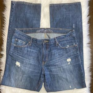 Old Navy Authentic Bootcut Distressed Men's Jeans
